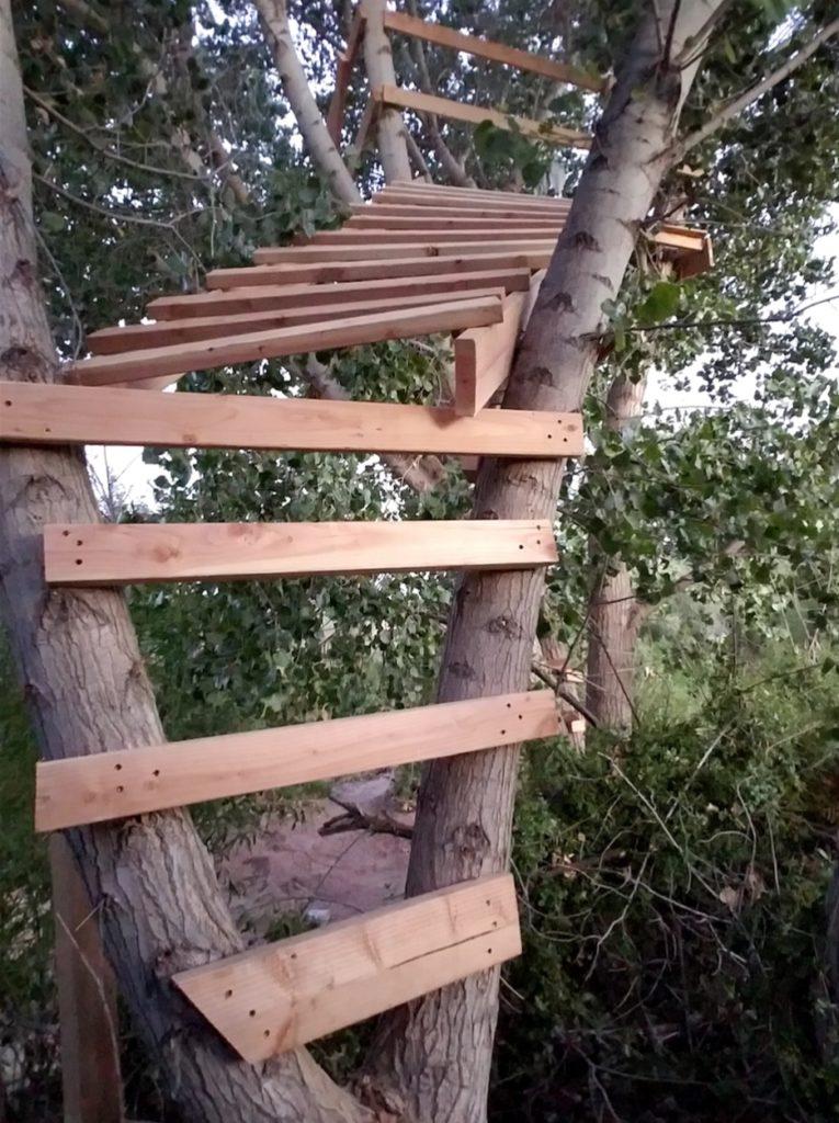 Unusual Climbing Platform