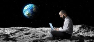 Working Remotely on the Moon