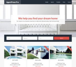 AgentPress Pro - Real Estate Theme