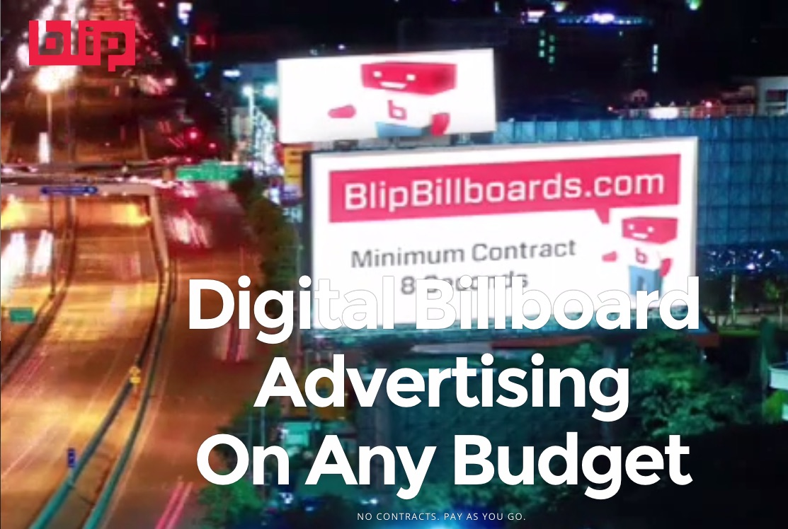 Blip Billboard Home Page