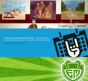 Top WordPress Event Plugin Logos