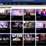 SXSW Conference Tracks Page