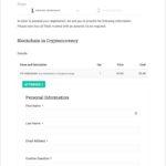 Baskerville Child Theme - Registration Page